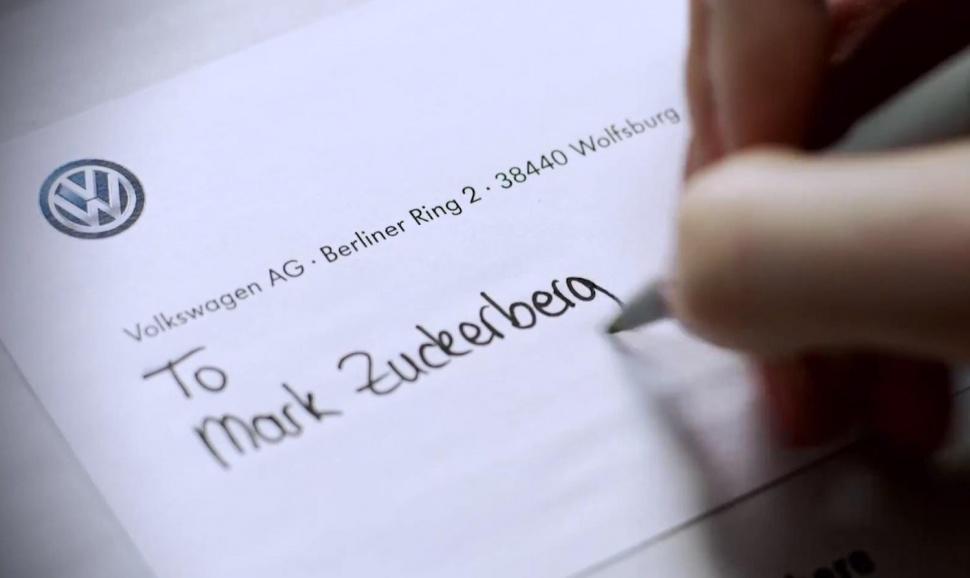 carta de volkswagen a zuckerberg