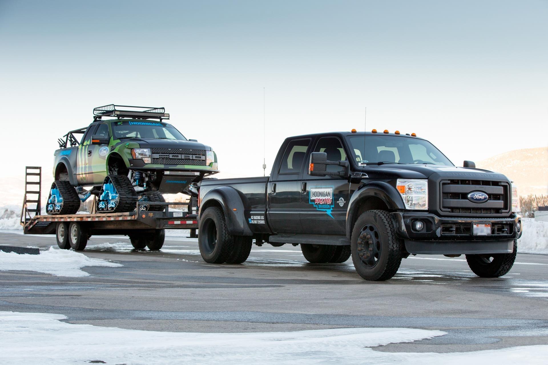 Ford F 150 Raptor Trax Cuando Ken Block Se Olvida De Las
