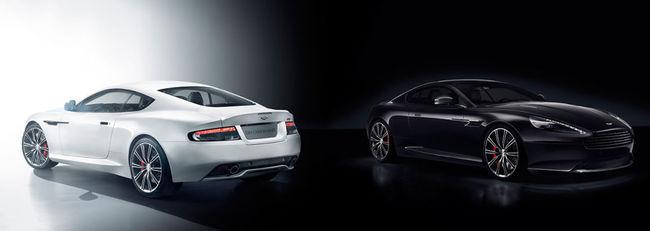 Aston Martin DB9 Carbon Black White 2014