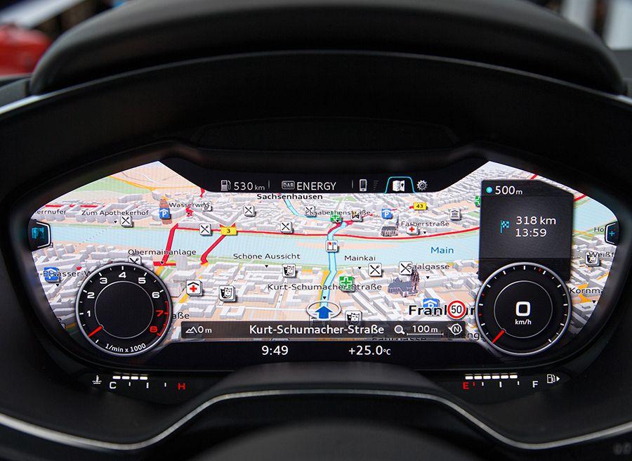 Audi TT salpicadero futuro 2