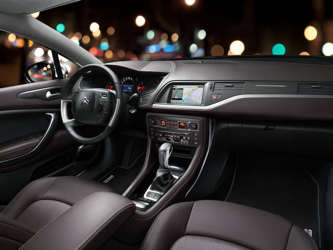 Citroen C5 CrossTourer 2014 interior