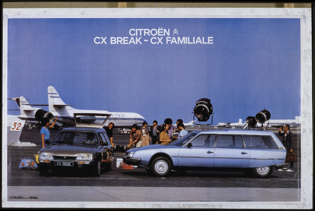 Citroen familiares historicos CX Break