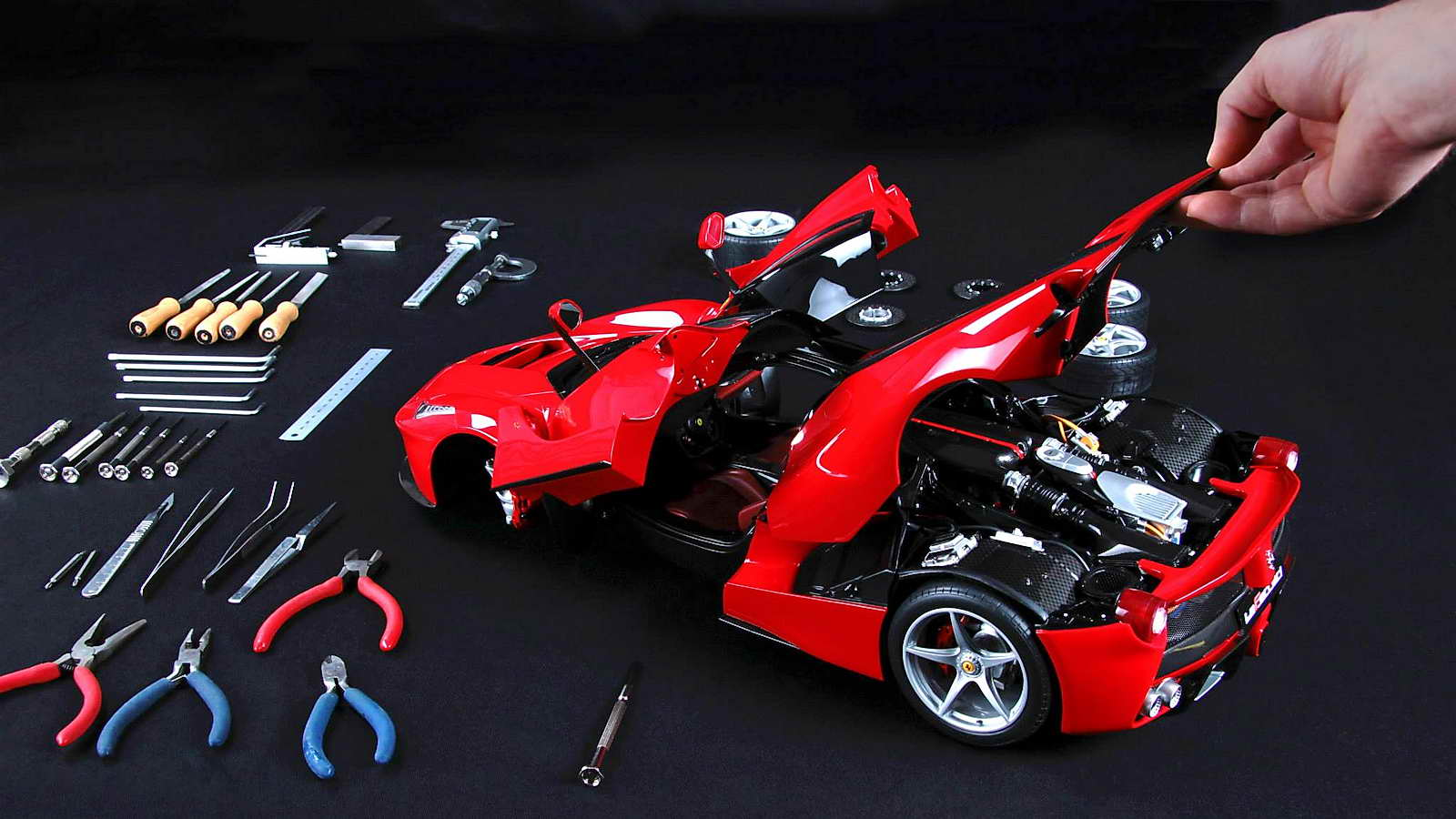 Ferrari Laferrari Y 458 Speciale Por Amalgam