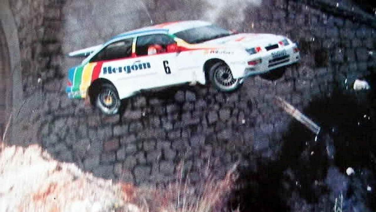Ford Sierra Rs Cosworth El Arma Americana De Los Rallies