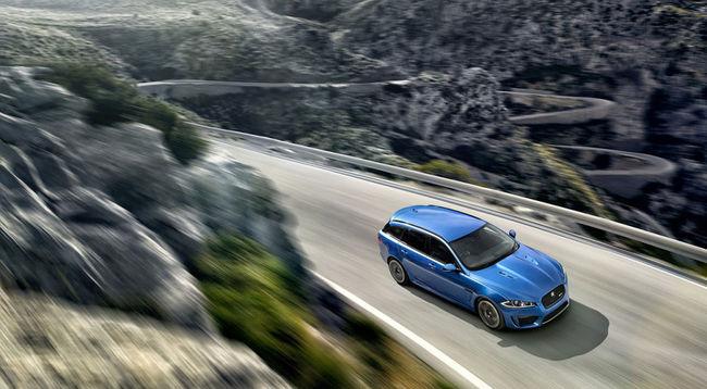 Jaguar XFR-S Sportbrake 2014 10