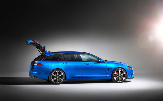 Jaguar XFR-S Sportbrake 2014 17