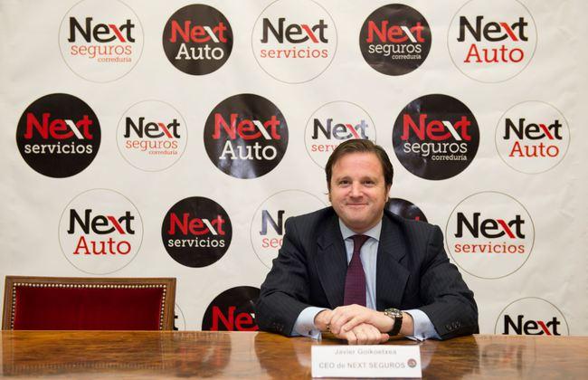 Javier Goicoetxea CEO Next Seguros