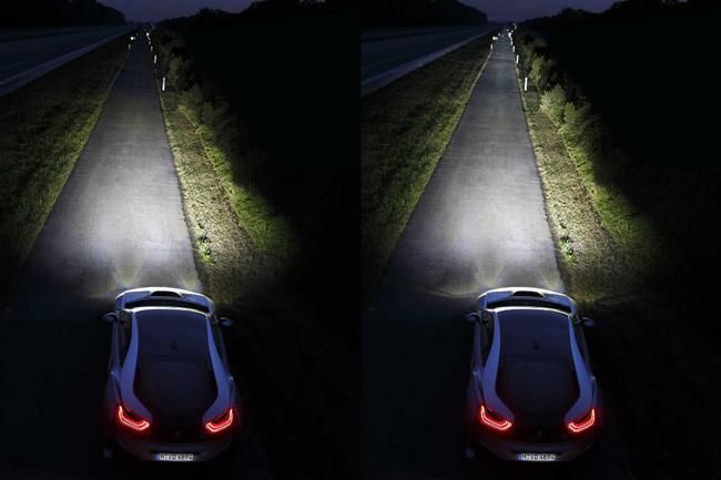 Luces laser BMW i8