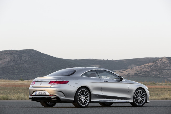 Mercedes Clase S Coupe 2014 32