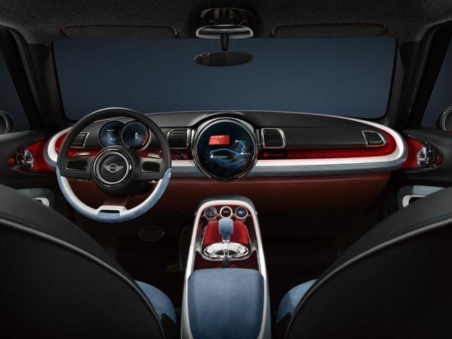 Mini Clubman Concept 2014 interior 01