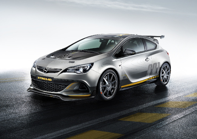 Opel  Astra OPC Extreme 2014 2