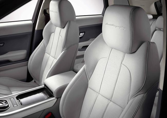 Tapiceria Range Rover Evoque