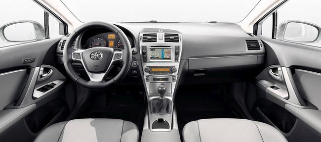 Toyota Avensis 2014 interior