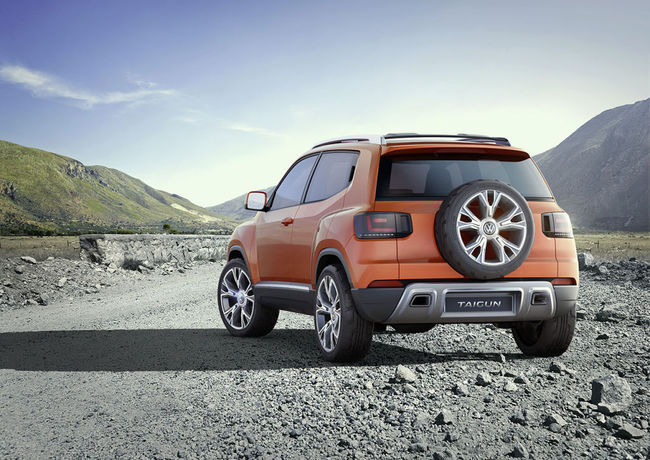 Volkswagen Taigun Concept 2014 01