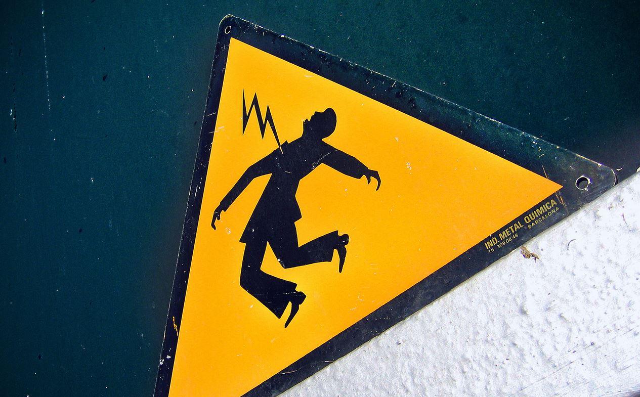 peligro electrico