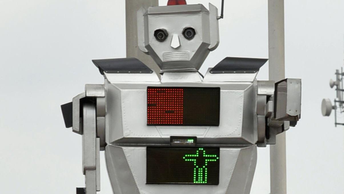 Semáforo robot Kinsasha