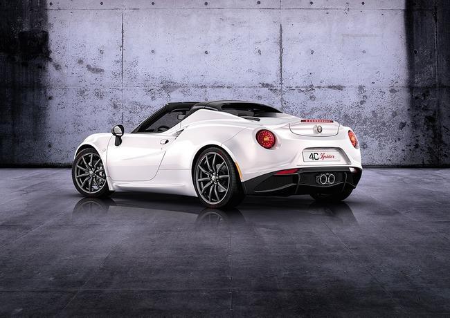 Alfa Romeo 4C Spider 2014 02