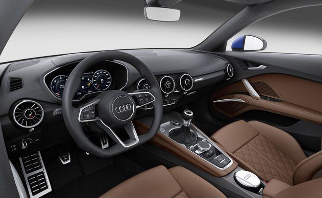 Audi TT 2014 interior 02