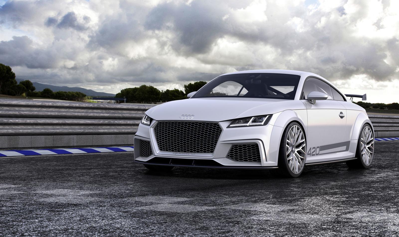 Audi TT Quattro Sport Concept 2014 03