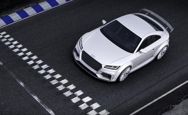 Audi TT Quattro Sport Concept 2014 09