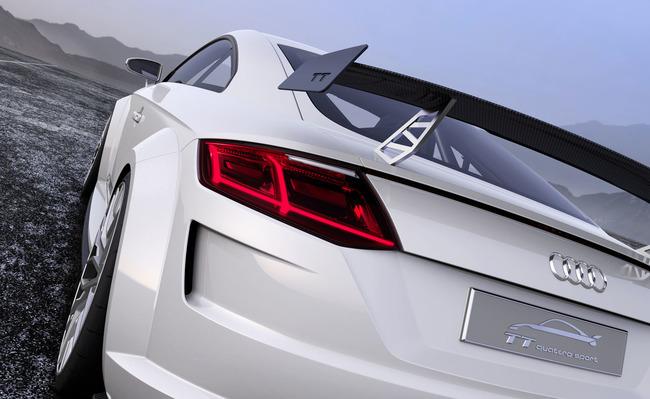Audi TT Quattro Sport Concept 2014 11