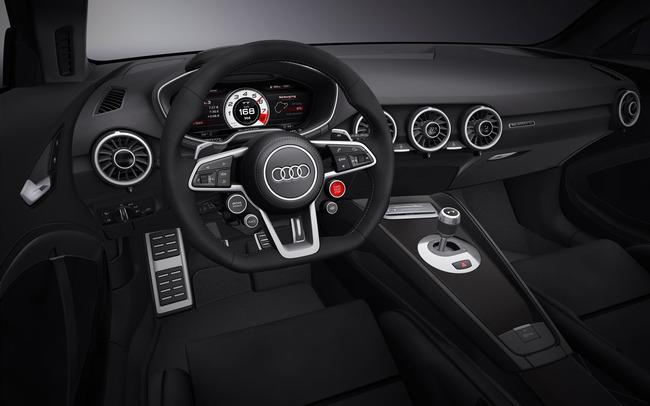 Audi TT Quattro Sport Concept 2014 interior 01