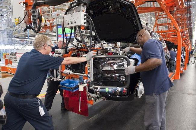 BMW Spartanburg fabrica