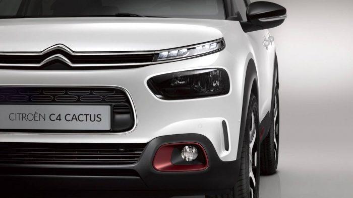 Citroen C4 Cactus 2018 frontal