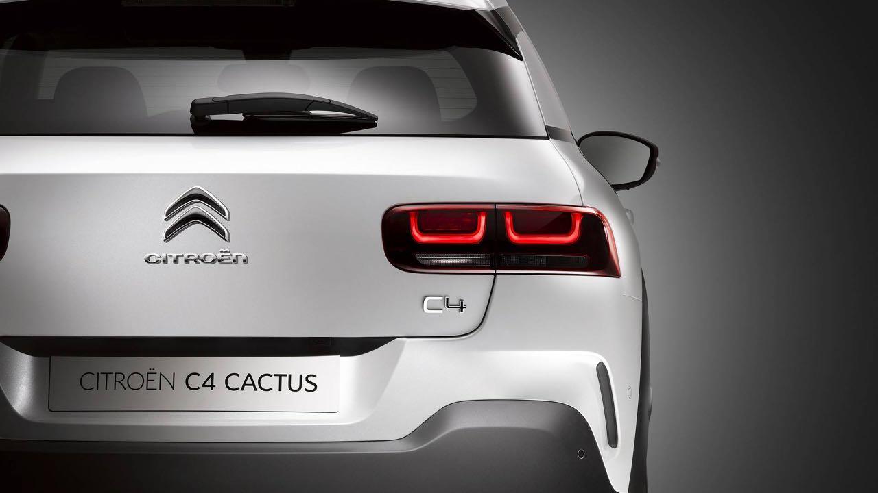 Citroen C4 Cactus 2018 trasera
