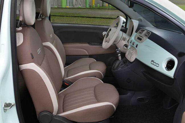Fiat 500 2014 interior 13