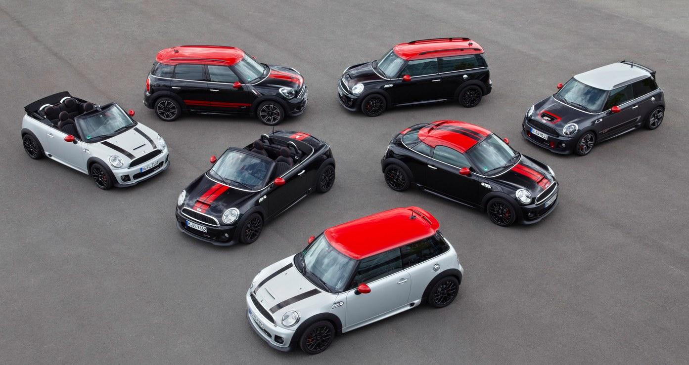 MINI Cooper 7 modelos