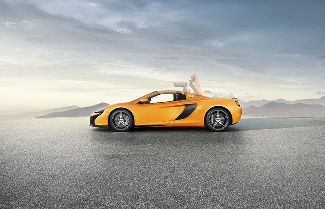 McLaren 650 S Spider 2014 01