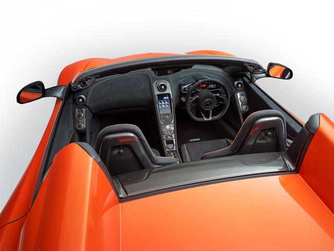 McLaren 650 S Spider 2014 interior