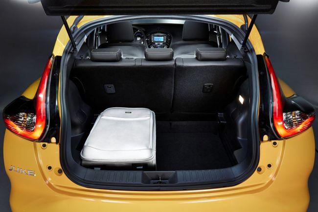 Nissan Juke 2014 maletero