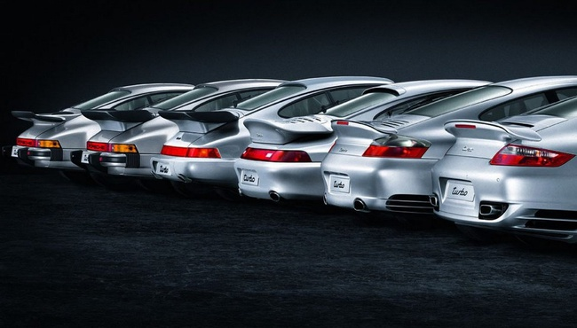 Porsche 911 Turbo cola