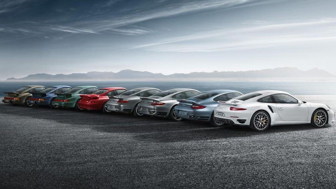 Porsche 911 turbo generaciones