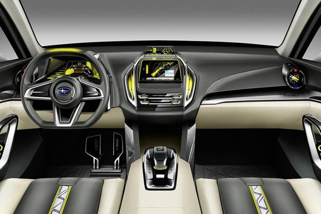 Subaru Viziv 2 Concept 2014 interior 1