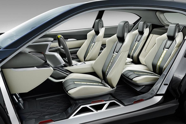 Subaru Viziv 2 Concept 2014 interior 2