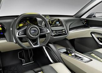 Subaru Viziv 2 Concept 2014 interior 3