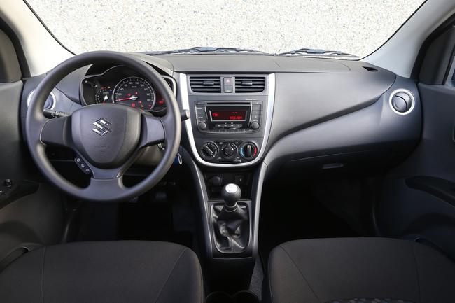 Suzuki Celerio 2014 interior 08