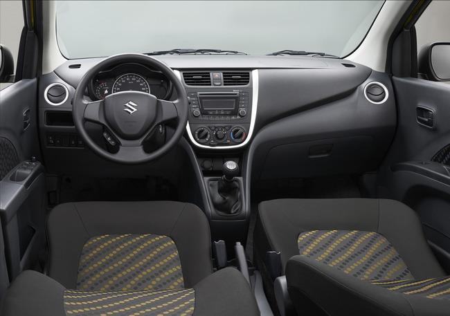Suzuki Celerio 2014 interior 2