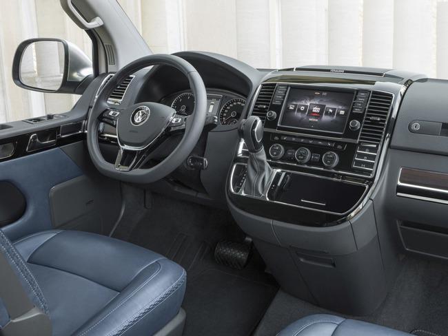 Volkswagen Multivan Alltrack Concept 2014 interior 01