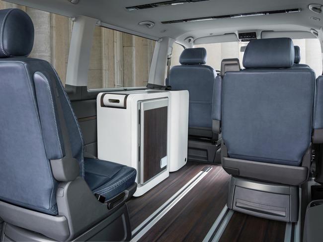Volkswagen Multivan Alltrack Concept 2014 interior 02