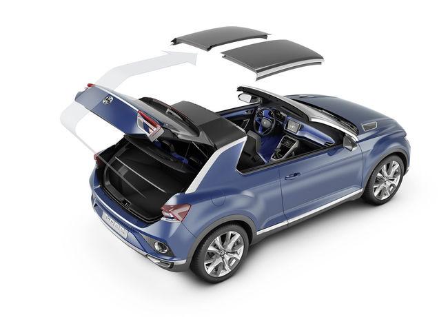 Volkswagen T-ROC Concept 2014 interior 05