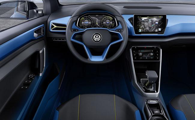 Volkswagen T-ROC Concept 2014 interior