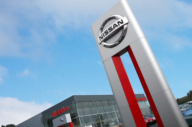 concesionario Nissan Showroom