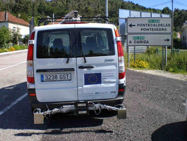 escaner de carretera