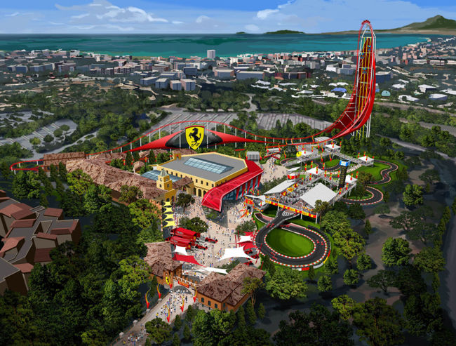 ferrari land render 01