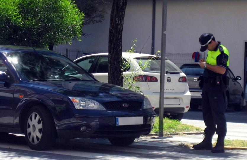 multa aparcamiento