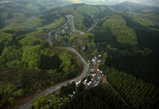 nurburgring foto aerea